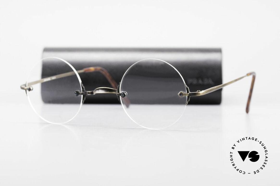 Bonneville by Brendel Timeless Plain Rimless Specs, Size: small, Made for Men and Women