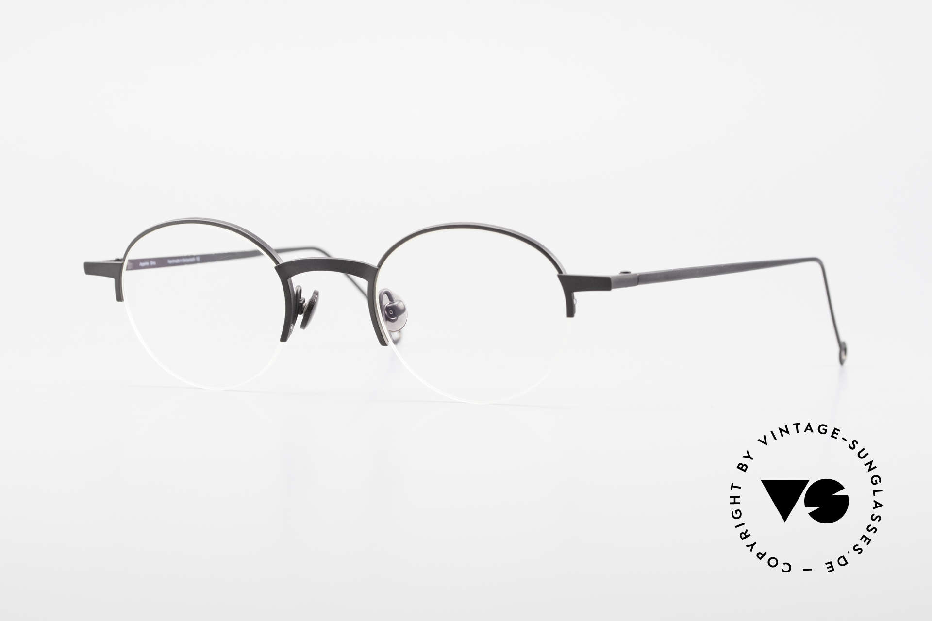 Markus Marienfeld Sina Pure Titanium Frame Handmade, glasses by Markus Marienfeld from Switzerland, Made for Men and Women