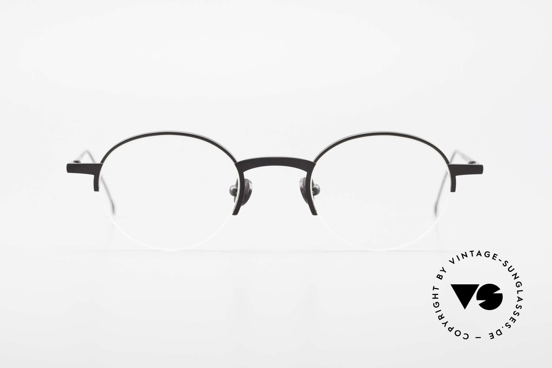 """Markus Marienfeld Sina Pure Titanium Frame Handmade, 1990's model SINA from the """"Aspekte"""" collection, Made for Men and Women"""