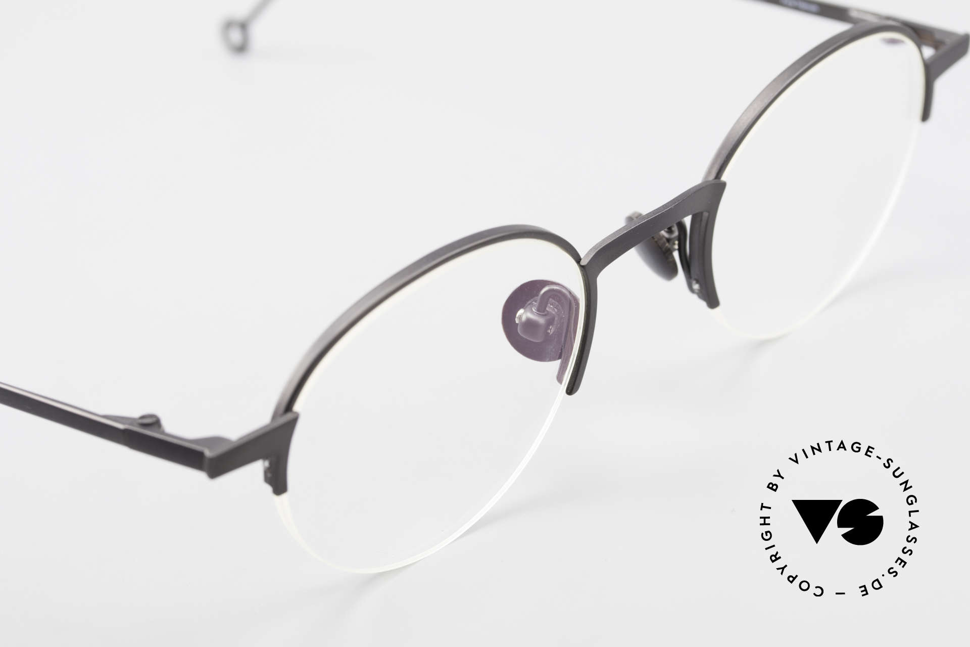 Markus Marienfeld Sina Pure Titanium Frame Handmade, unworn rarity (for all lovers of quality), unisex!, Made for Men and Women