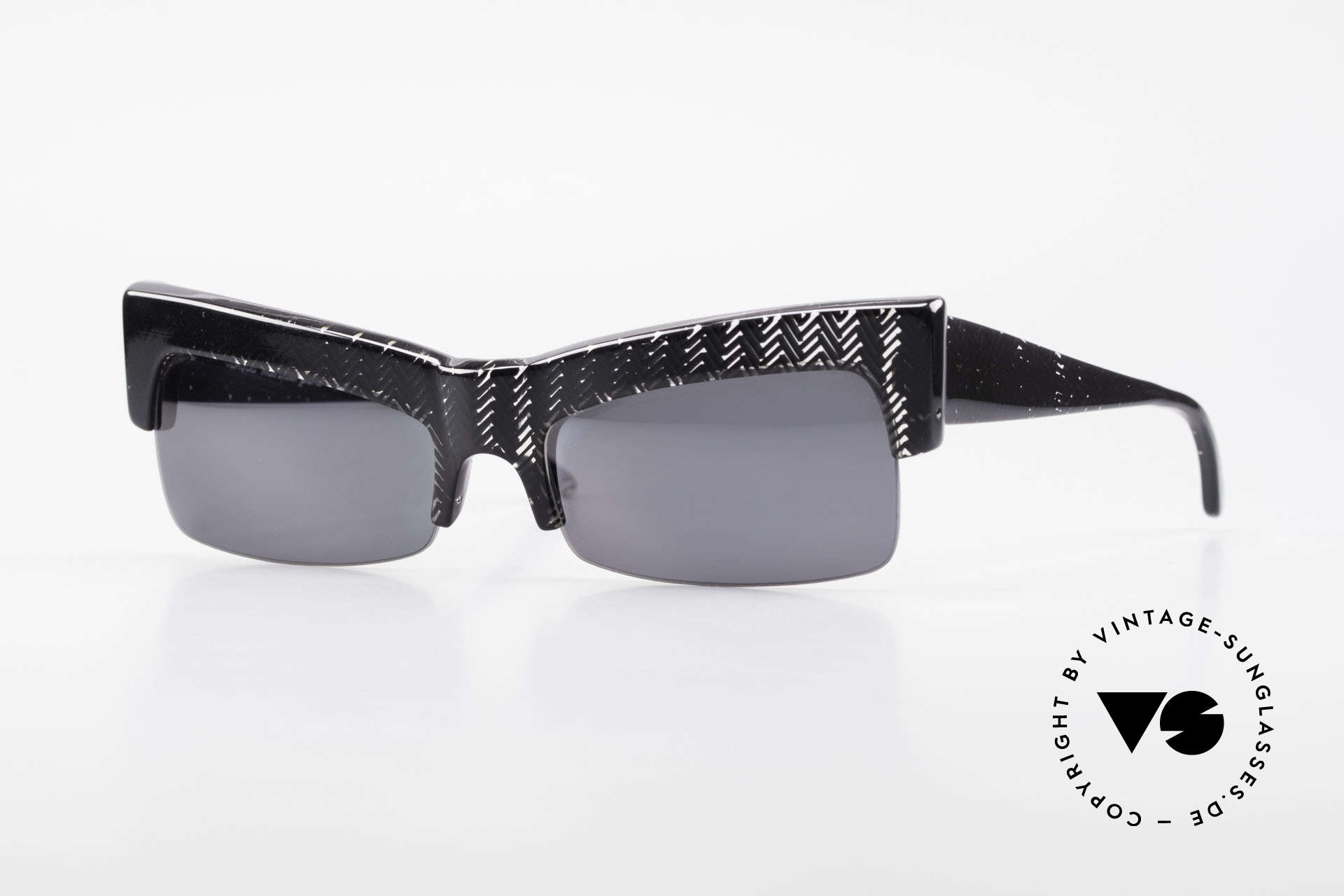 Claude Montana 522 1980's Design by Alain Mikli, vintage Claude Montana sunglasses from the late 80's, Made for Women