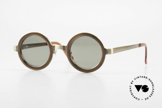 Rosana R4 Round Insider Sunglasses 90's Details