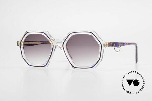 Sonia Rykiel SR46 756 Octagonal 70's Sunglasses Details