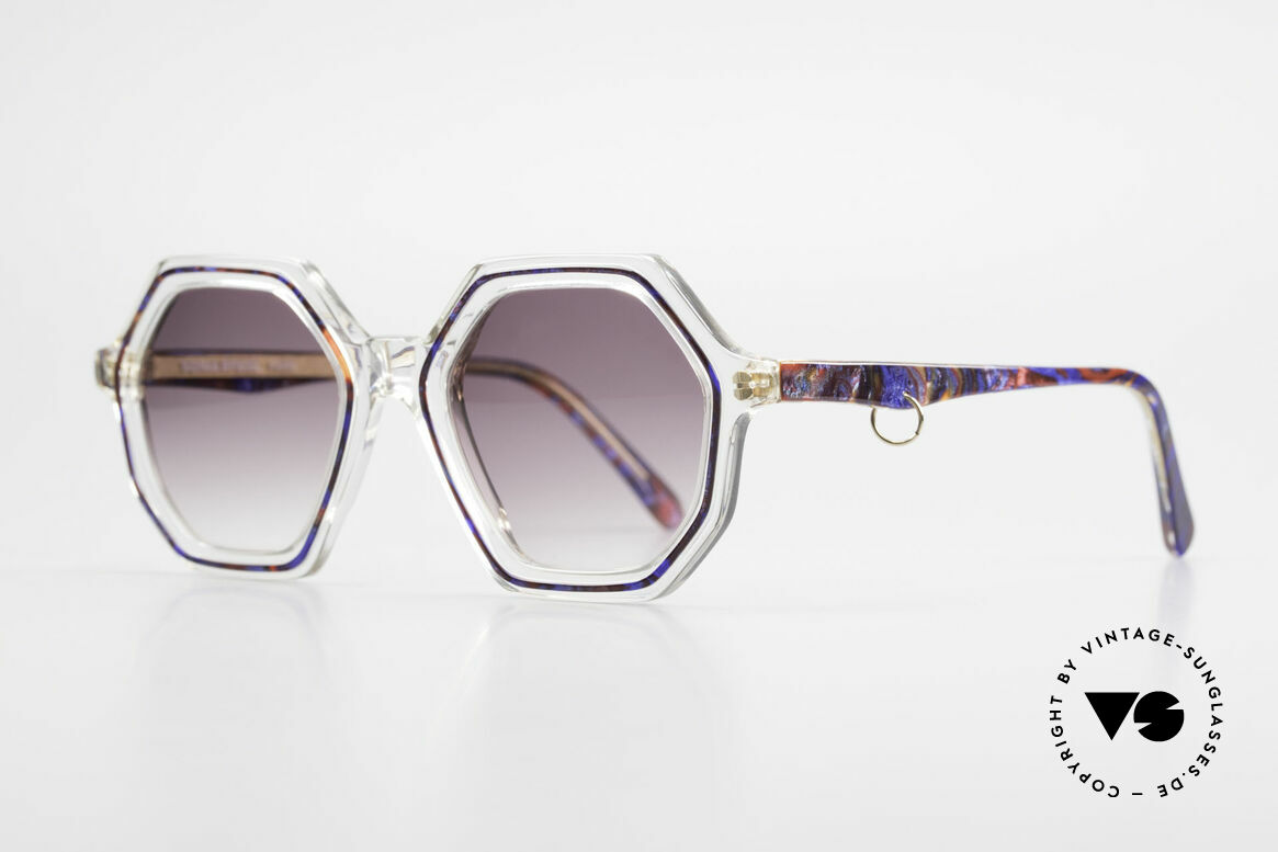 Sonia Rykiel SR46 756 Octagonal 70's Sunglasses, perfect to create your individual outfit - just UNIQUE!, Made for Women