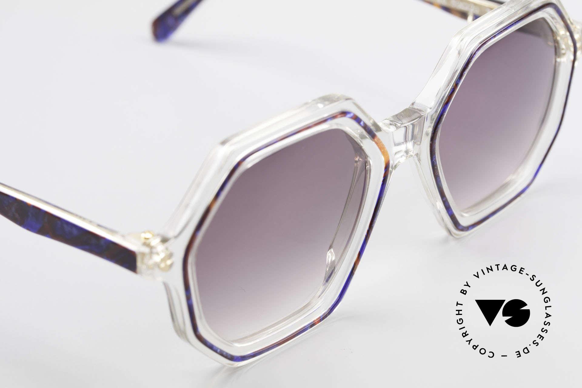 Sonia Rykiel SR46 756 Octagonal 70's Sunglasses, NO RETRO fashion, but a genuine 40 years old unicum, Made for Women