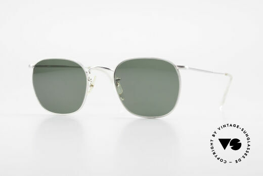 Algha Quadra 50/22 Old Gold Filled Sunglasses Details