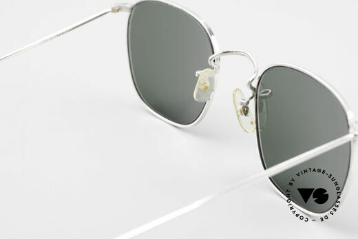 Algha Quadra 50/22 Old Gold Filled Sunglasses, NO RETRO specs, but a min. 35 years old original!, Made for Men