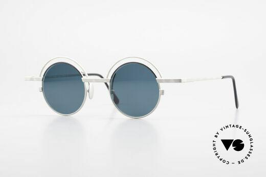 IMAGO Pluto Round Designer Sunglasses Details