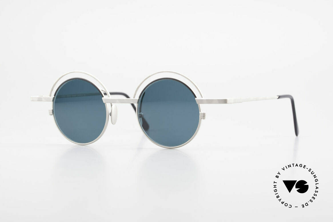 IMAGO Pluto Round Designer Sunglasses, IMAGO = eyewear designs with identity and personality, Made for Men and Women