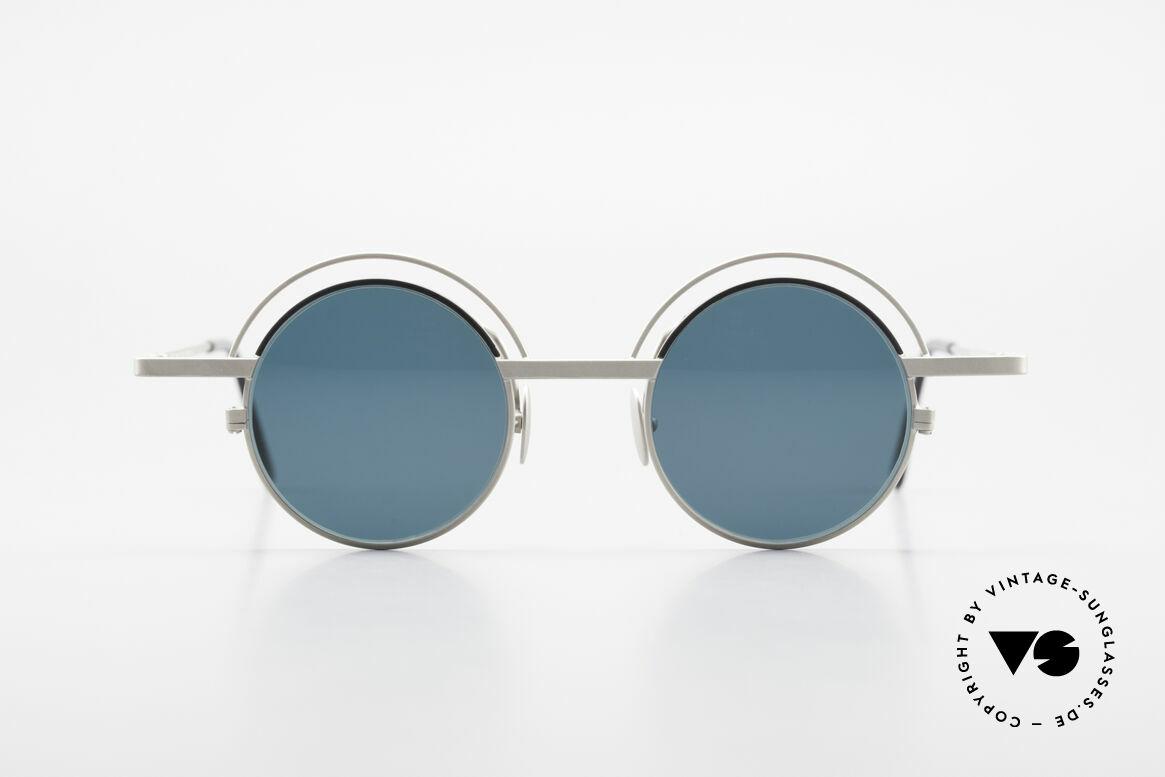 IMAGO Pluto Round Designer Sunglasses, 'imago' is Latin for: shape, idea, imagination, vision ..., Made for Men and Women