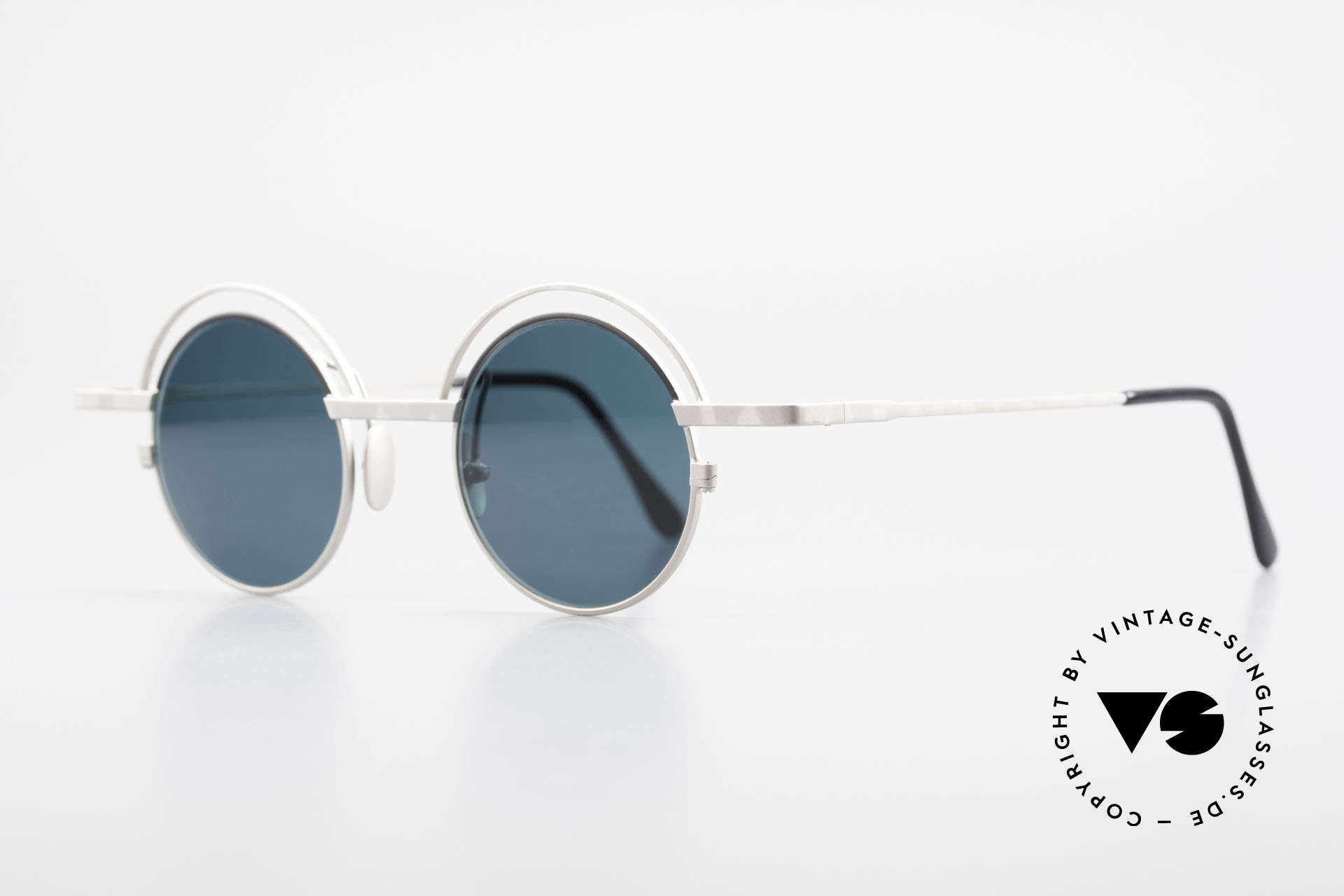 IMAGO Pluto Round Designer Sunglasses, multifaceted designs & craftsmanship 'made in Germany', Made for Men and Women