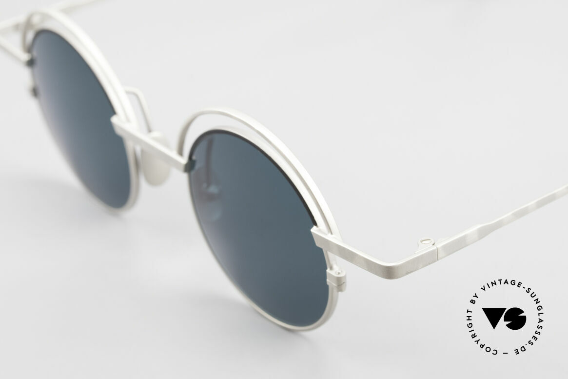 IMAGO Pluto Round Designer Sunglasses, unworn single item from the late '90 (true vintage rarity), Made for Men and Women