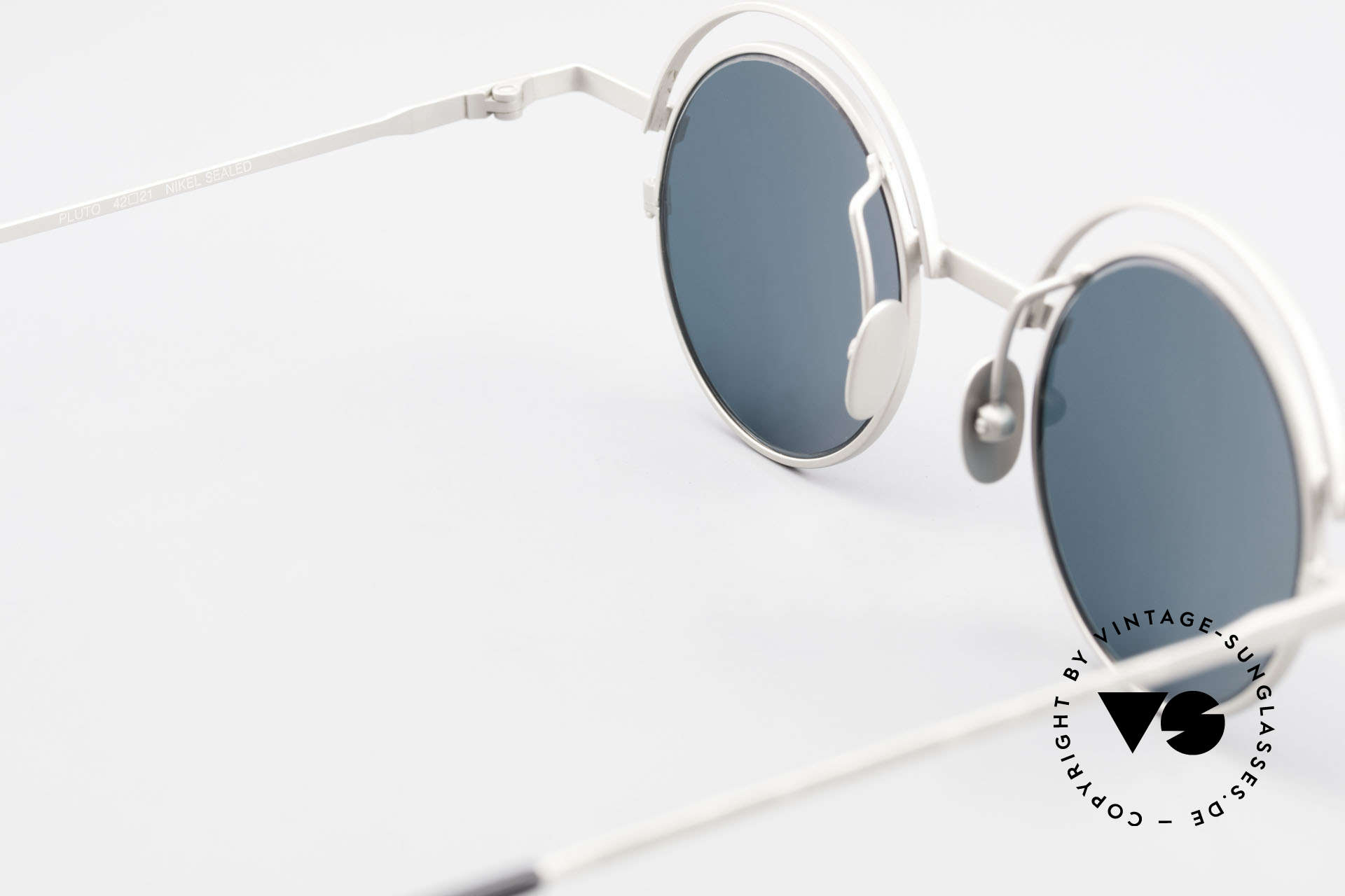IMAGO Pluto Round Designer Sunglasses, sun lenses (100% UV) can be replaced with prescriptions, Made for Men and Women