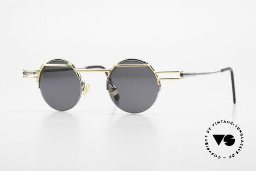 IMAGO Luna 90s Designer Sunglasses Round Details