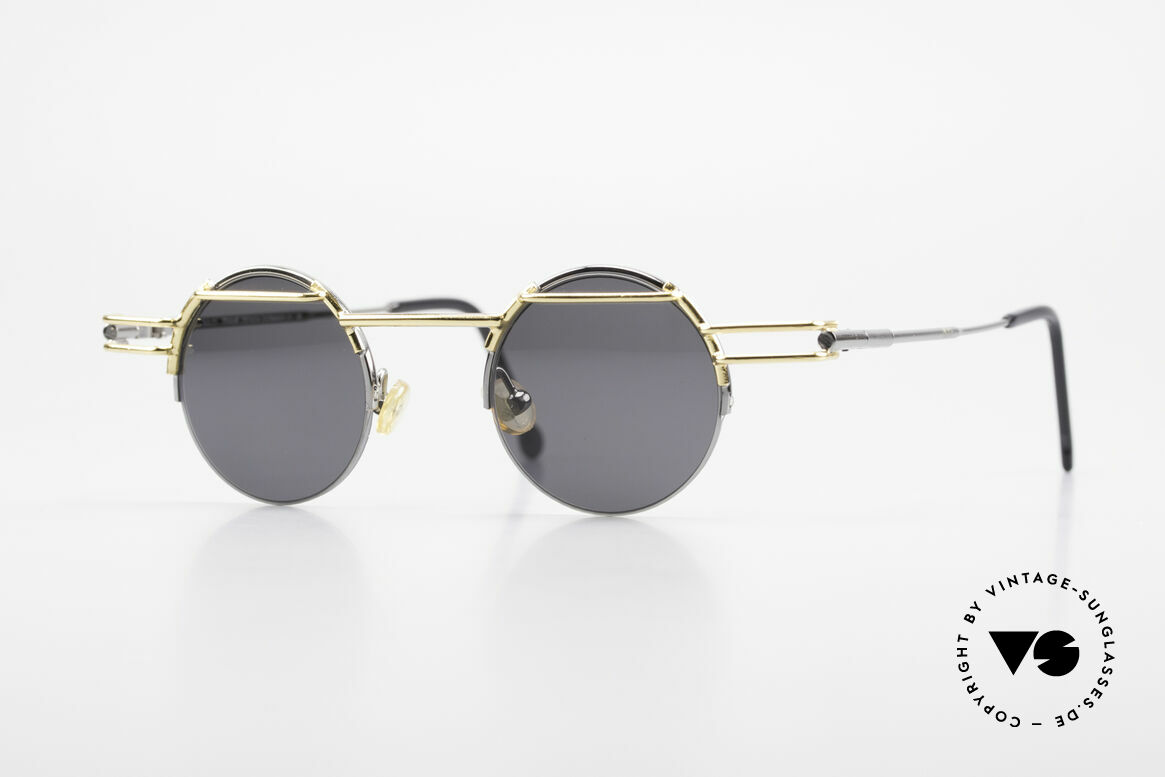 IMAGO Luna 90s Designer Sunglasses Round, IMAGO = eyewear designs with identity and personality, Made for Men and Women