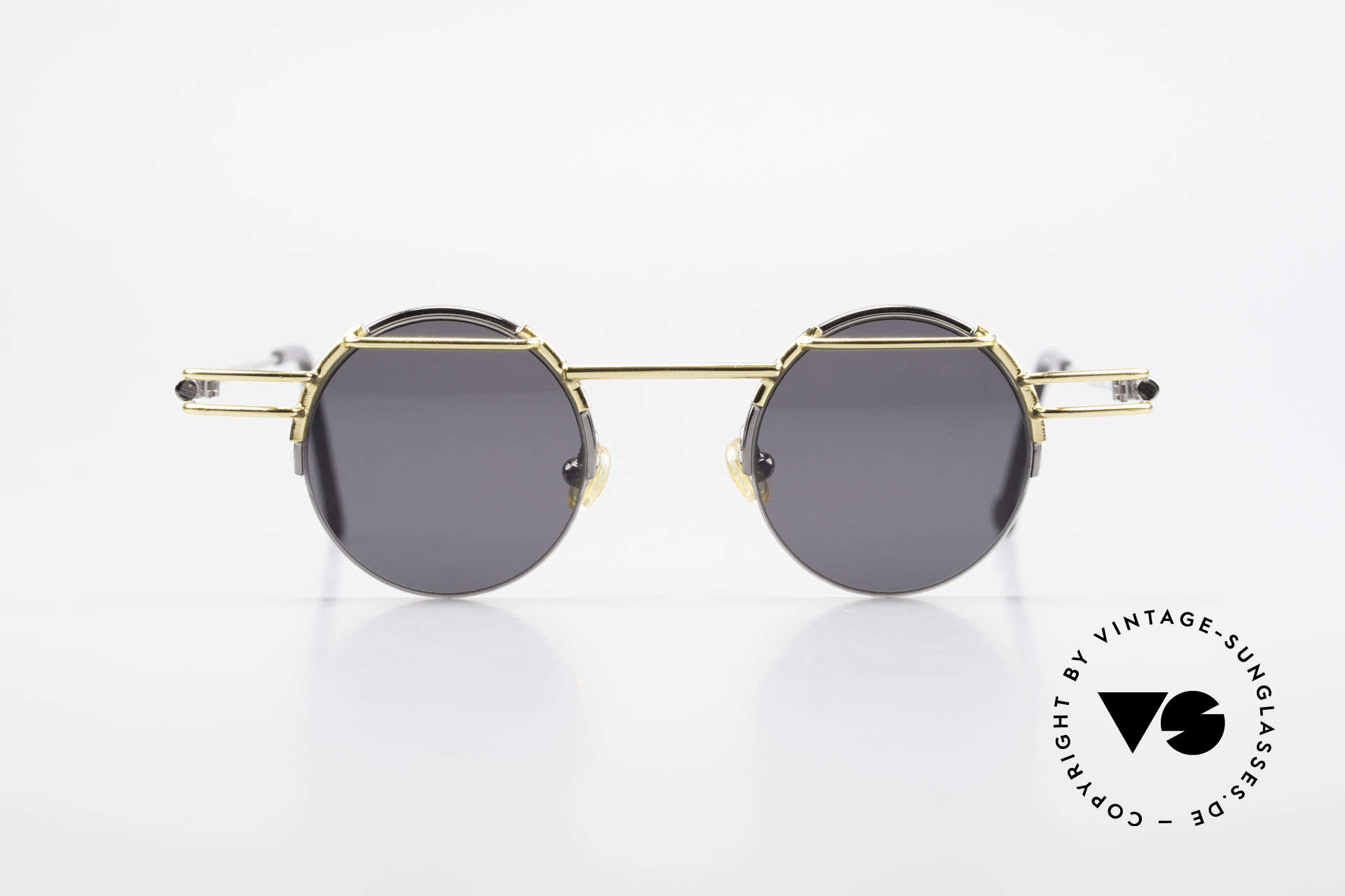 IMAGO Luna 90s Designer Sunglasses Round, 'imago' is Latin for: shape, idea, imagination, vision ..., Made for Men and Women