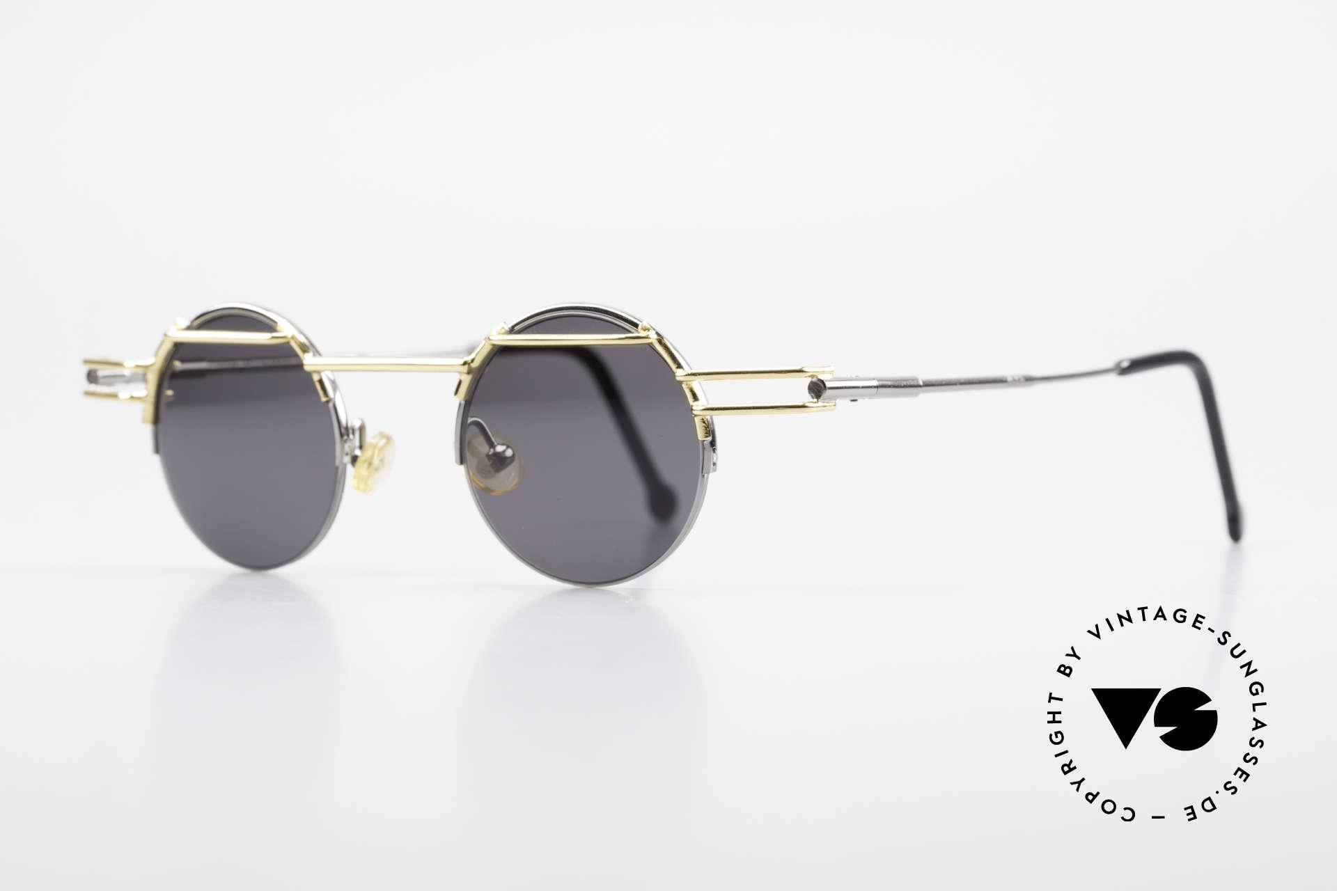 IMAGO Luna 90s Designer Sunglasses Round, multifaceted designs & craftsmanship 'made in Germany', Made for Men and Women
