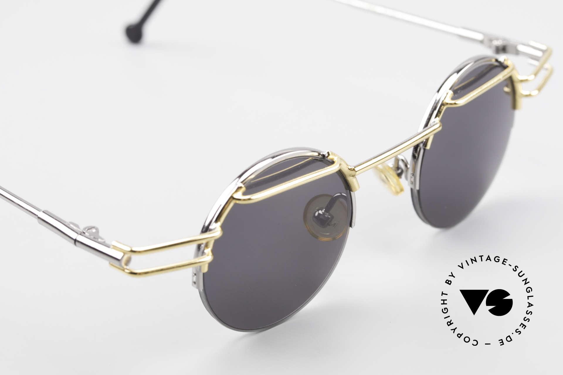 IMAGO Luna 90s Designer Sunglasses Round, NO RETRO (reproduction) shades, but a real old original!, Made for Men and Women