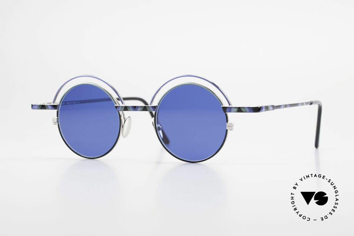 IMAGO Pluto Art Designer Sunglasses 90's, IMAGO = eyewear designs with identity and personality, Made for Men and Women