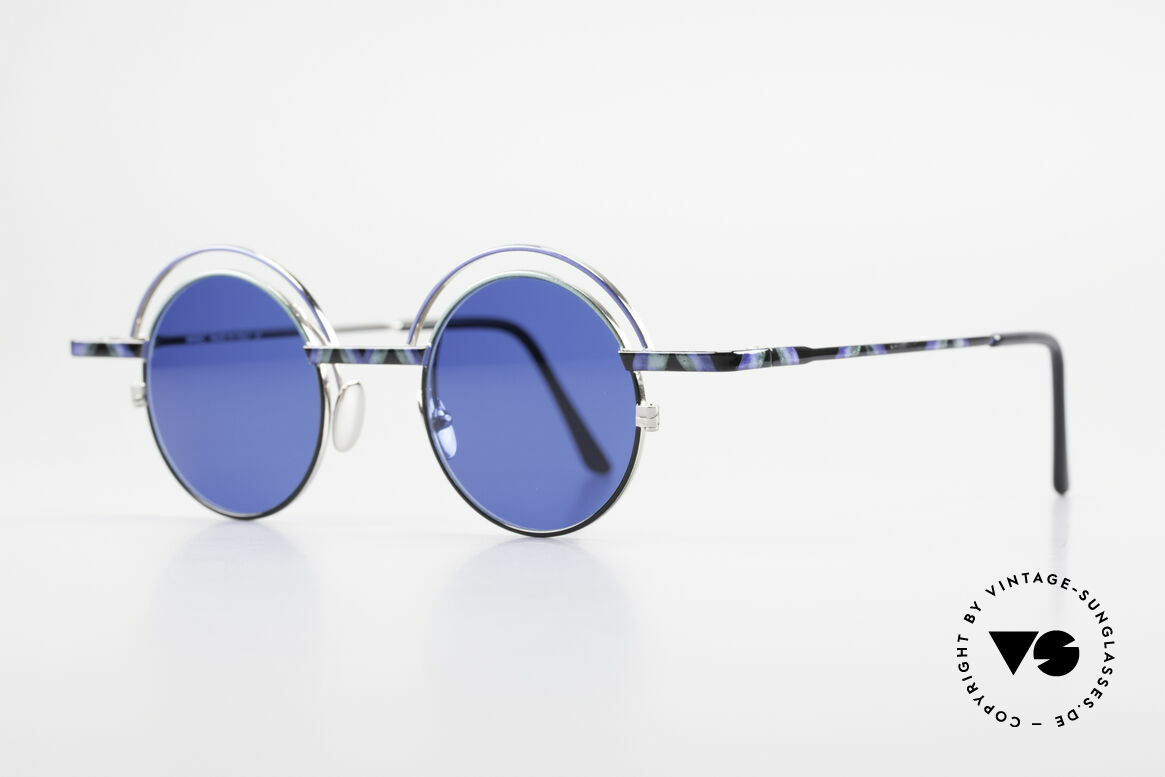 IMAGO Pluto Art Designer Sunglasses 90's, multifaceted designs & craftsmanship 'made in Germany', Made for Men and Women