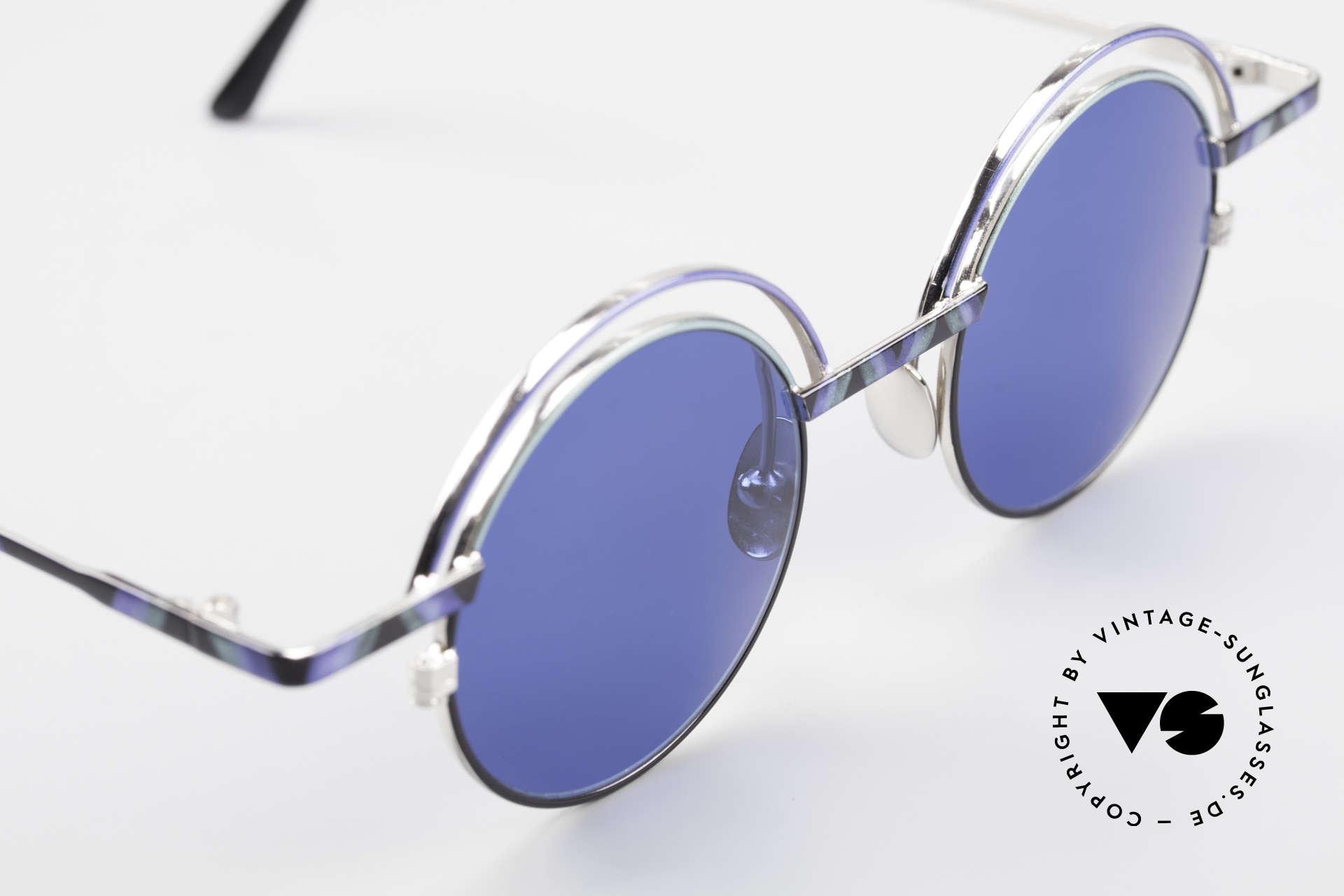 IMAGO Pluto Art Designer Sunglasses 90's, NO RETRO (reproduction) shades, but a real old original!, Made for Men and Women