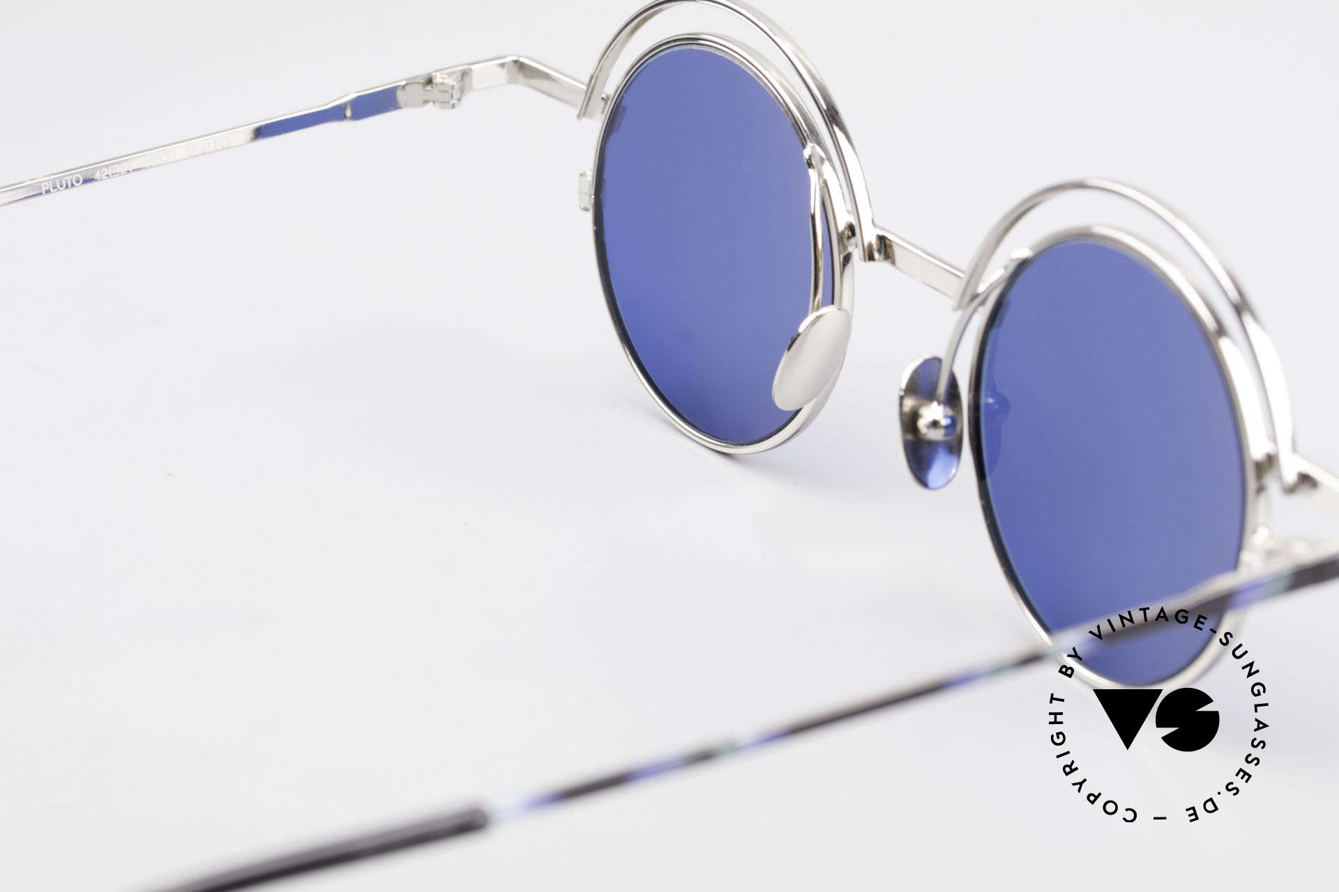 IMAGO Pluto Art Designer Sunglasses 90's, sun lenses (100% UV) can be replaced with prescriptions, Made for Men and Women