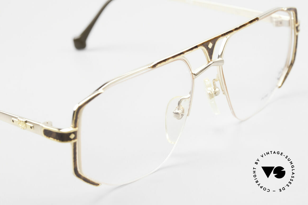 MCM München 5 Titanium Glasses Gold Plated, unworn, NOS (like all our old vintage MCM ORIGINALS), Made for Men