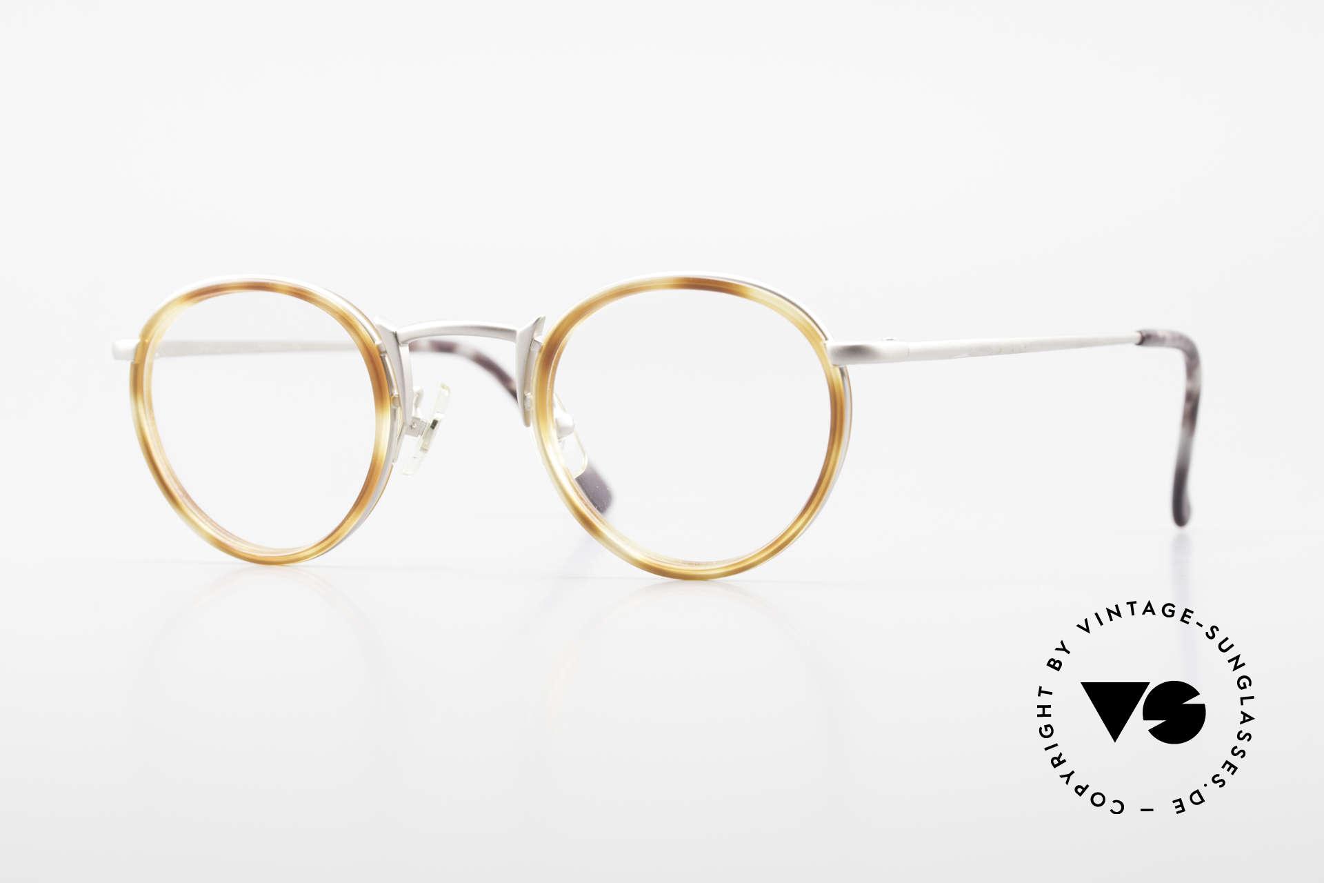 Freudenhaus Bido Round 90's Designer Frame, vintage designer glasses by FREUDENHAUS, Munich, Made for Men and Women