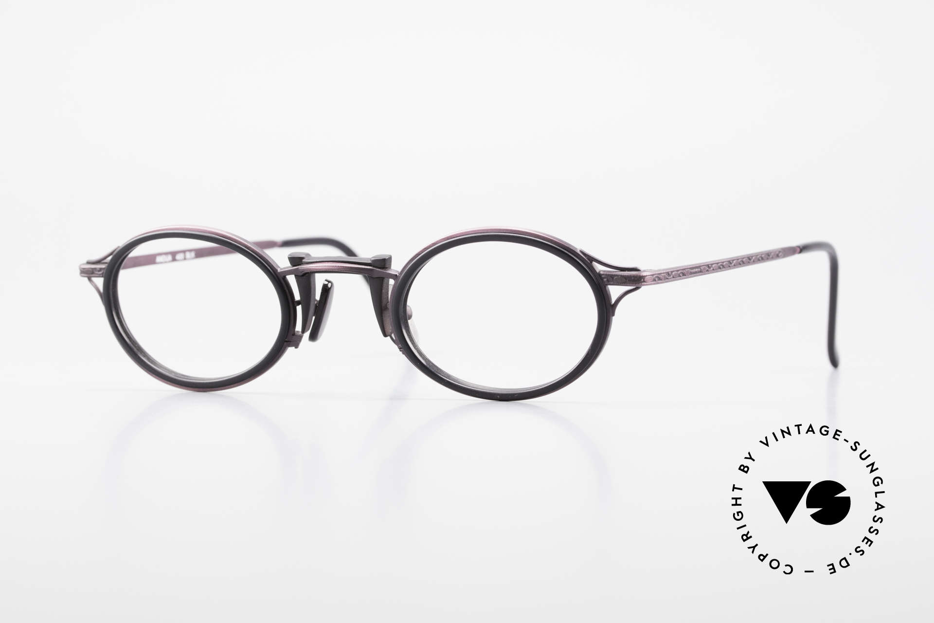 Freudenhaus Andua Oval 90's Designer Frame, vintage designer glasses by FREUDENHAUS, Munich, Made for Women