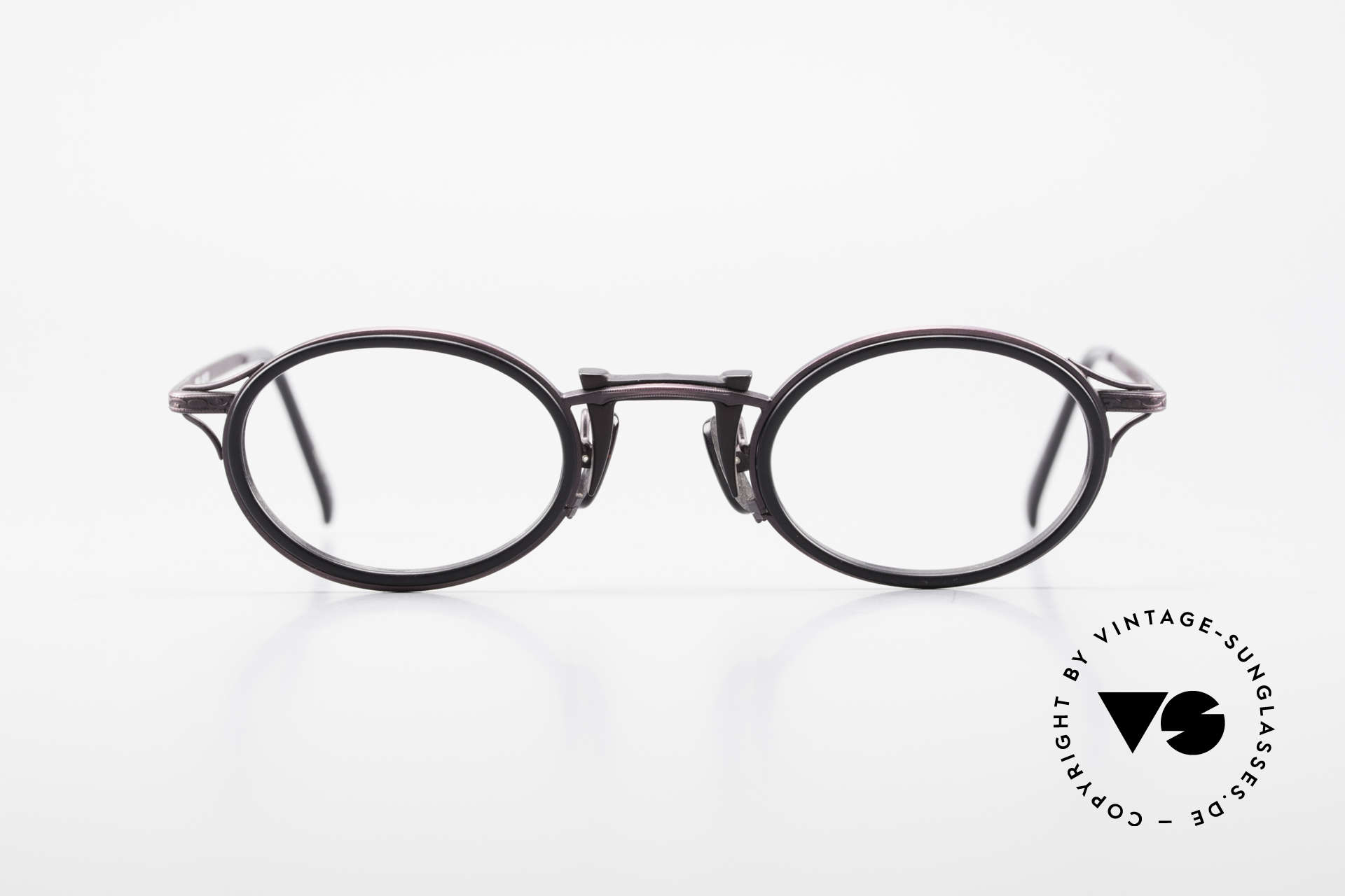 "Freudenhaus Andua Oval 90's Designer Frame, 'Freudenhaus' means ""cathouse / house of pleasure"", Made for Women"