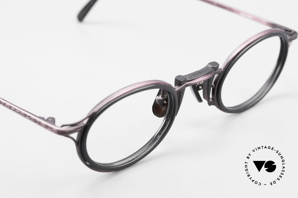 Freudenhaus Andua Oval 90's Designer Frame, unworn (like all our rare vintage designer eyeglasses), Made for Women