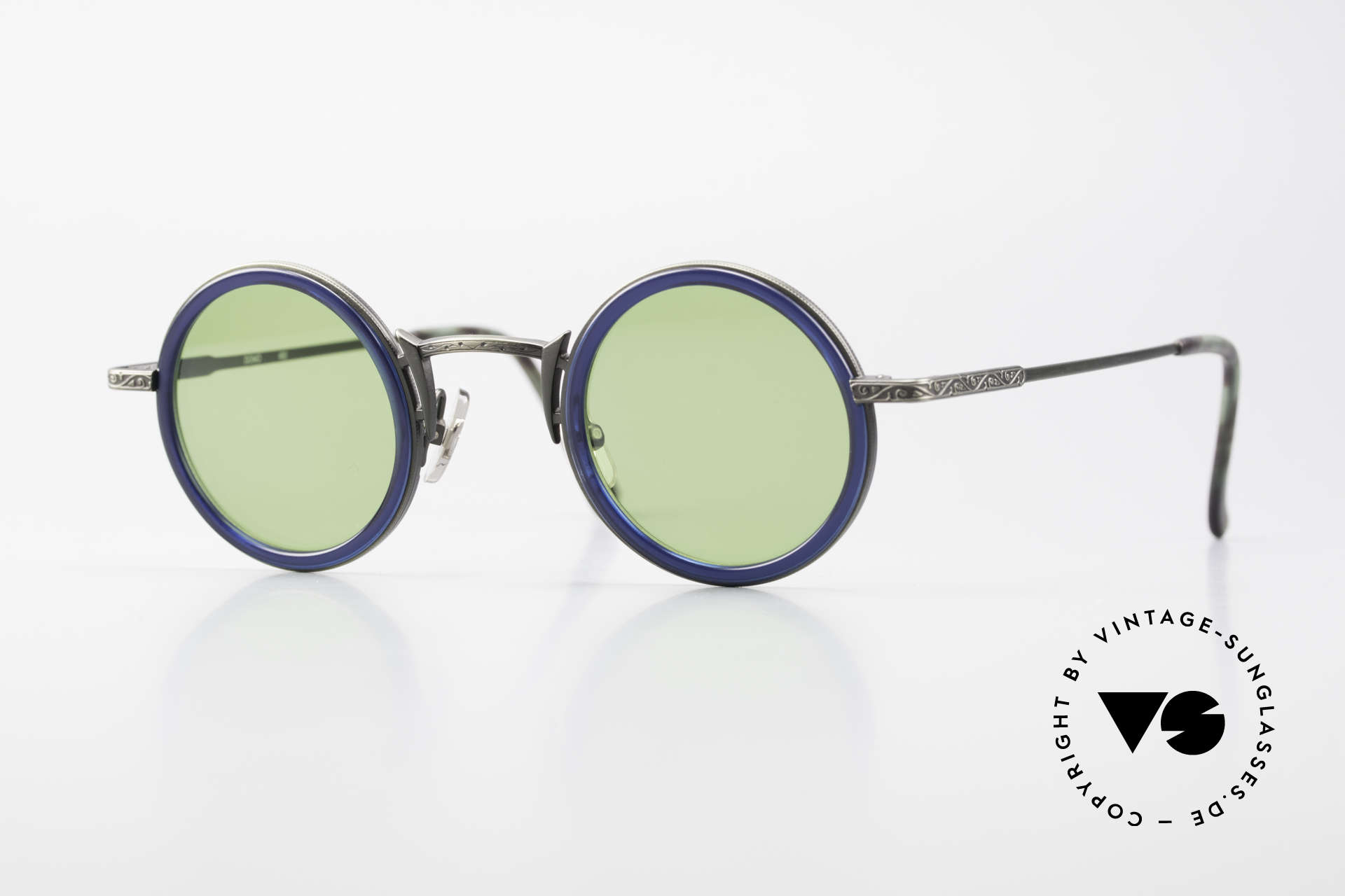 Freudenhaus Domo Round Designer Sunglasses, vintage designer shades by FREUDENHAUS, Munich, Made for Men