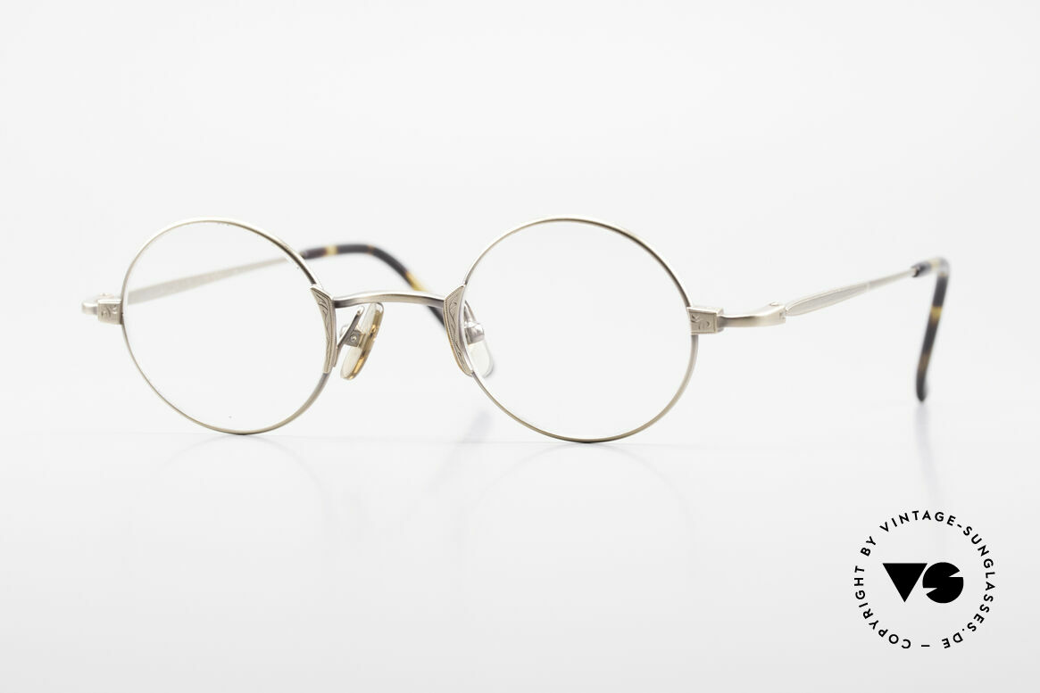 Freudenhaus Tori Small Round Designer Frame, vintage designer glasses by FREUDENHAUS, Munich, Made for Men and Women