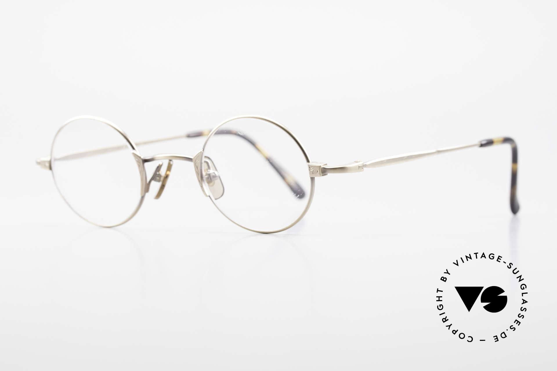 Freudenhaus Tori Small Round Designer Frame, costly frame, top notch craftsmanship (from Japan), Made for Men and Women