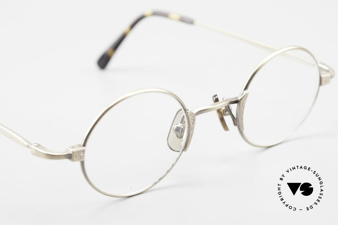 Freudenhaus Tori Small Round Designer Frame, unworn (like all our rare vintage designer eyeglasses), Made for Men and Women