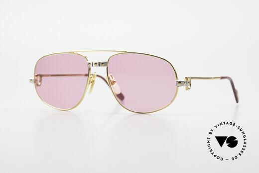 Cartier Romance Santos - S Small Luxury Sunglasses Details