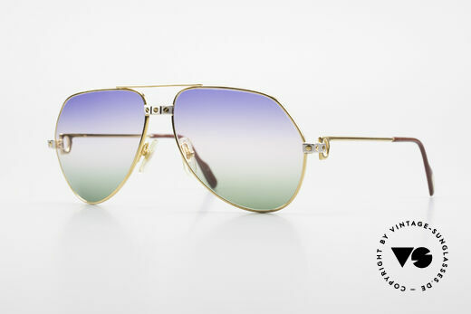 Cartier Vendome Santos - M Rare Luxury Aviator Shades Details