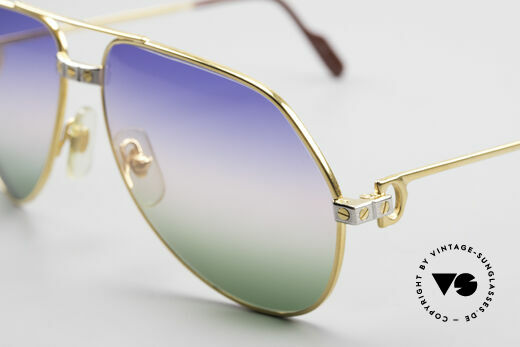 Cartier Vendome Santos - M Rare Luxury Aviator Shades