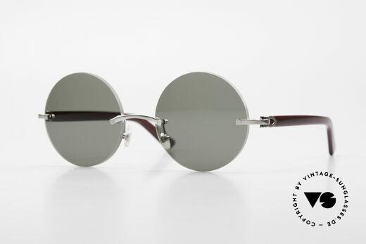 Cartier C-Decor Madison Small Round Luxury Shades Details