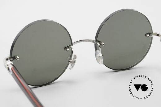 Cartier C-Decor Madison Small Round Luxury Shades, customized by our optician in SMALL/MEDIUM size!, Made for Men and Women