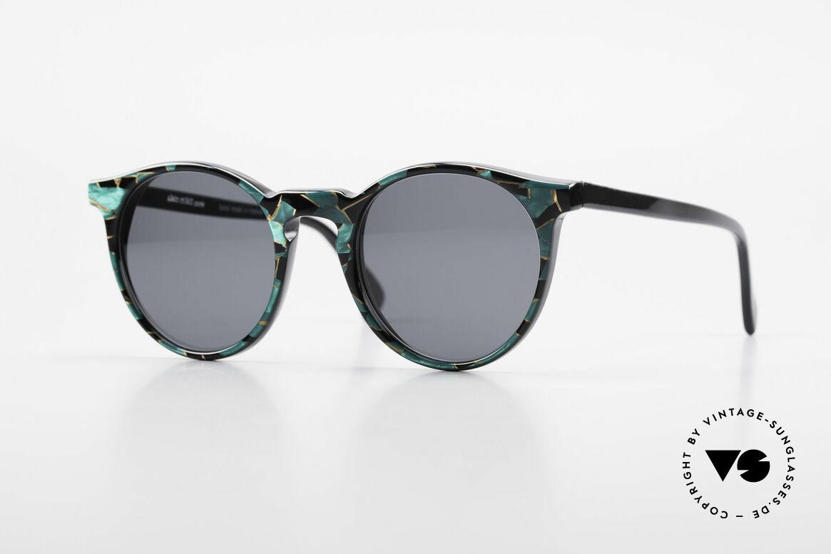 Alain Mikli 034 / 885 Panto Designer Sunglasses, timeless vintage Alain Mikli designer sunglasses, Made for Men and Women
