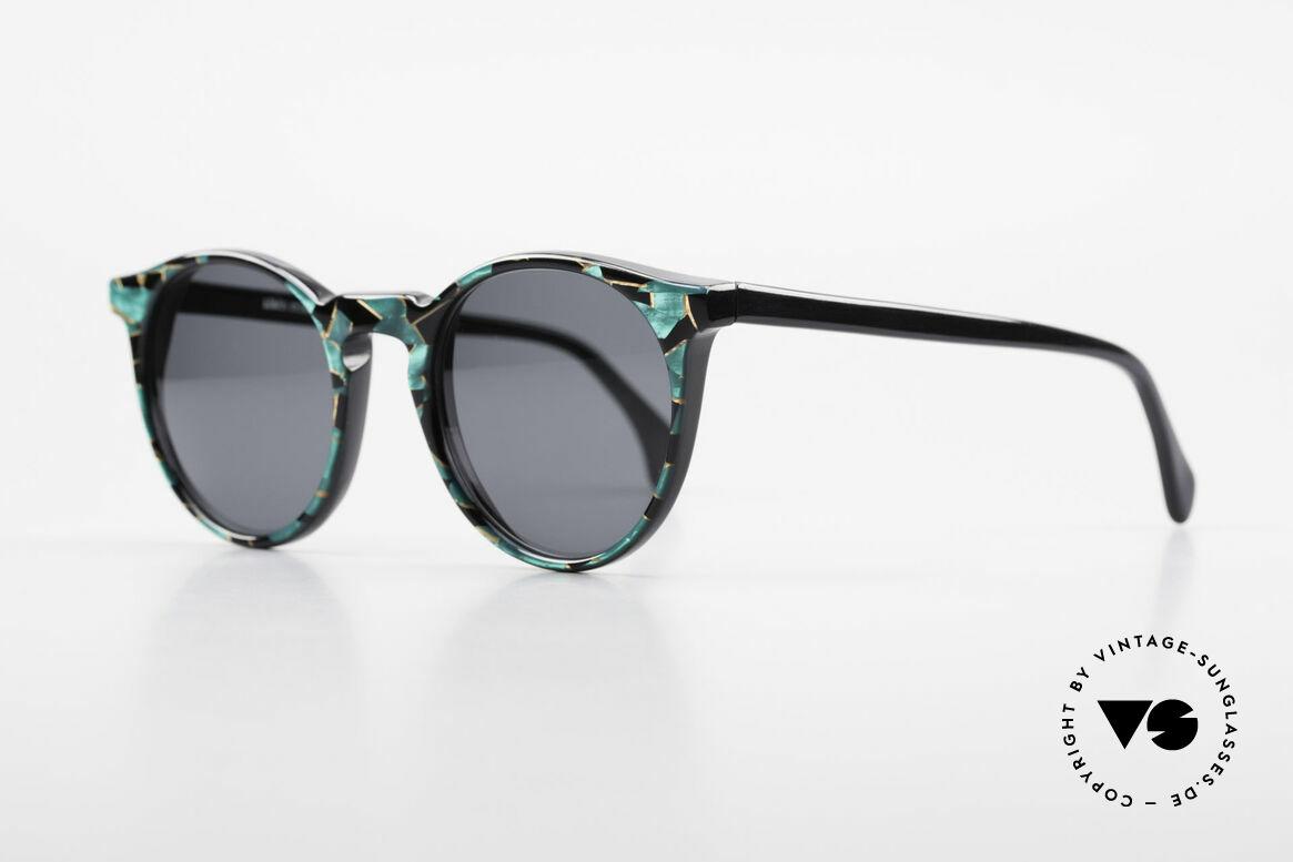 Alain Mikli 034 / 885 Panto Designer Sunglasses, inspired by the 1960's 'Tart Optical Arnel' frames, Made for Men and Women