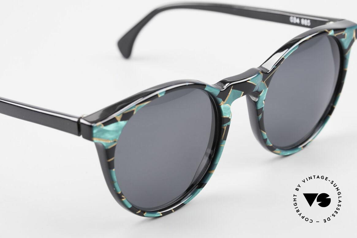 Alain Mikli 034 / 885 Panto Designer Sunglasses, NO RETRO frame, but an old ORIGINAL from 1989, Made for Men and Women