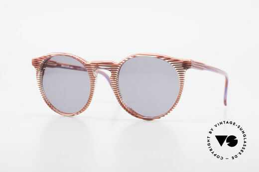 Alain Mikli 034 / 274 80's Ladies Panto Sunglasses Details