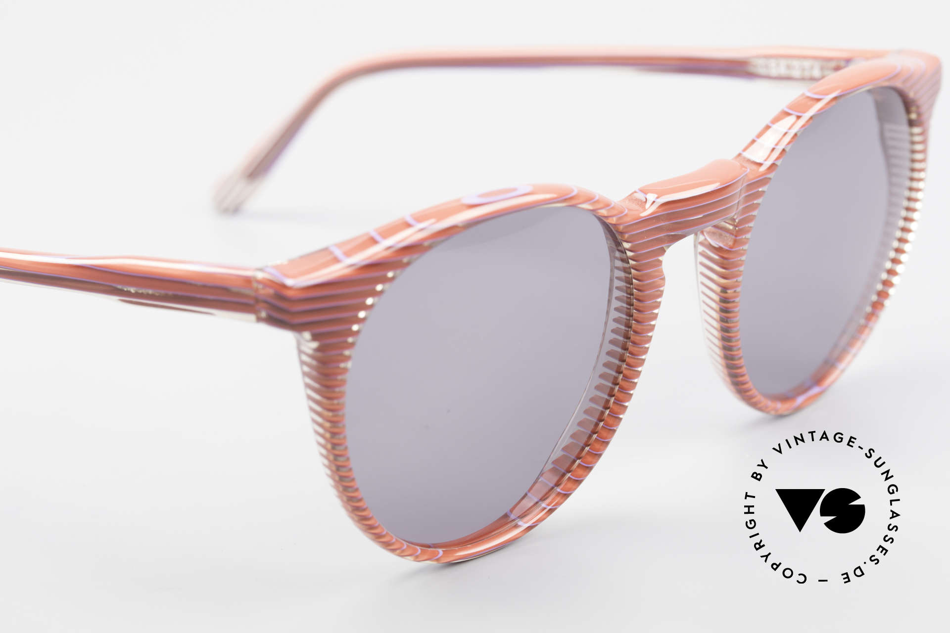 Alain Mikli 034 / 274 80's Ladies Panto Sunglasses, the sun lenses could be replaced with prescriptions, Made for Women