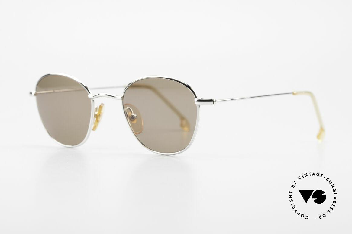 W Proksch's M8/1 90's Advantgarde Sunglasses, plain frame design & Japanese striving for quality, Made for Men and Women