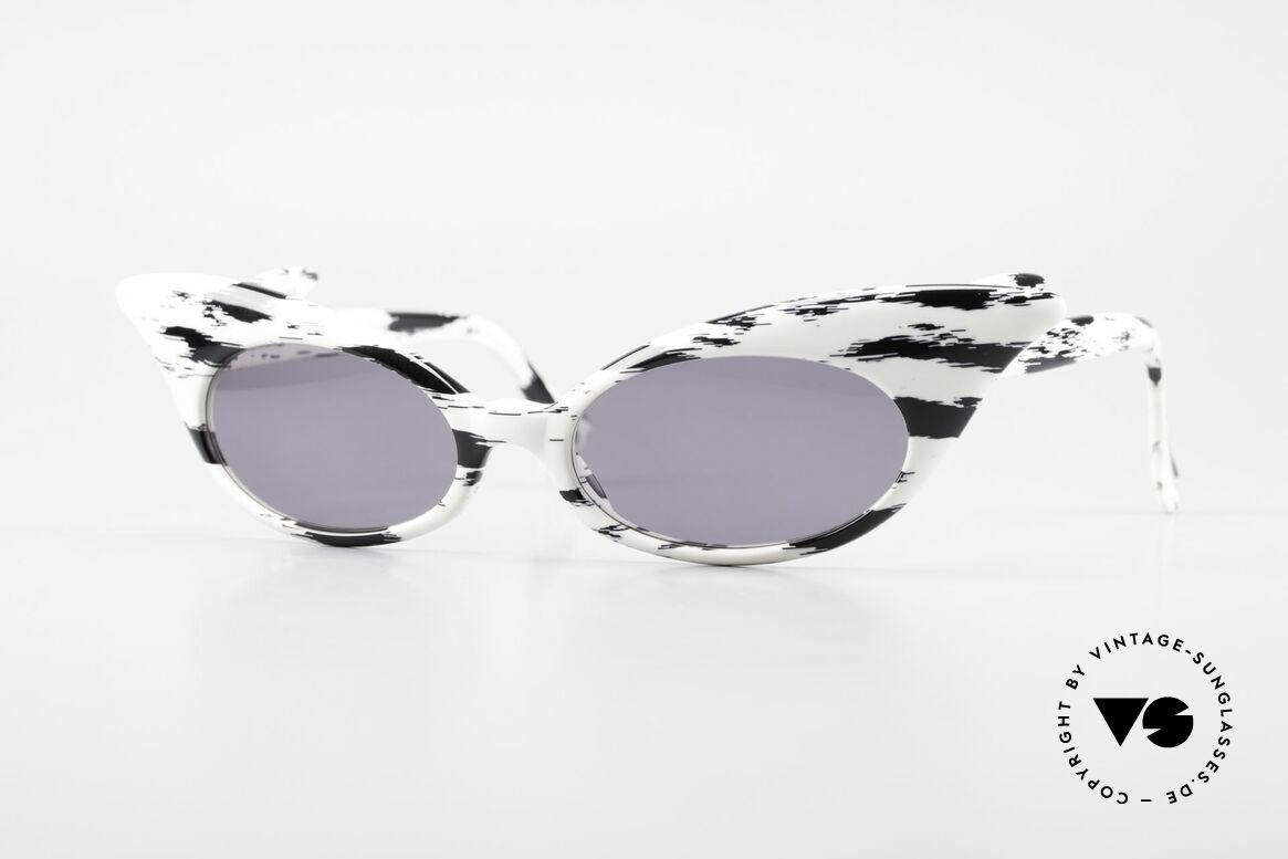Alain Mikli D309 / 2105 Limited Edition 101 Dalmatians, vintage Alain Mikli 101 Dalmatians designer sunglasses, Made for Women