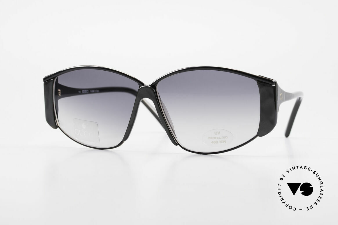 Gucci 2308 80's Ladies Designer Shades XL, exciting vintage OVERSIZED sunglasses by GUCCI, Made for Women