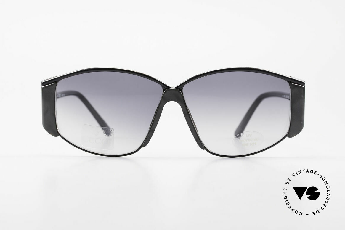 Gucci 2308 80's Ladies Designer Shades XL, a truly rare masterpiece of the late 80's from Italy, Made for Women