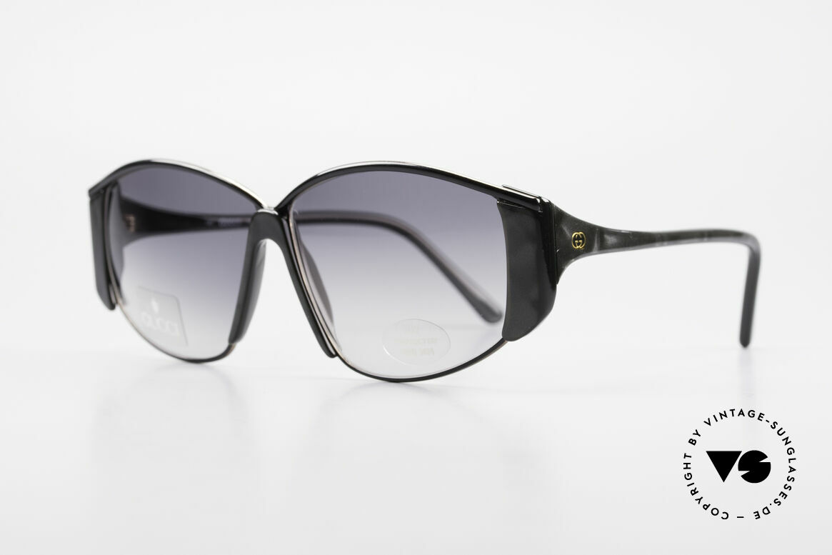 Gucci 2308 80's Ladies Designer Shades XL, very outstanding frame design in top-notch quality, Made for Women